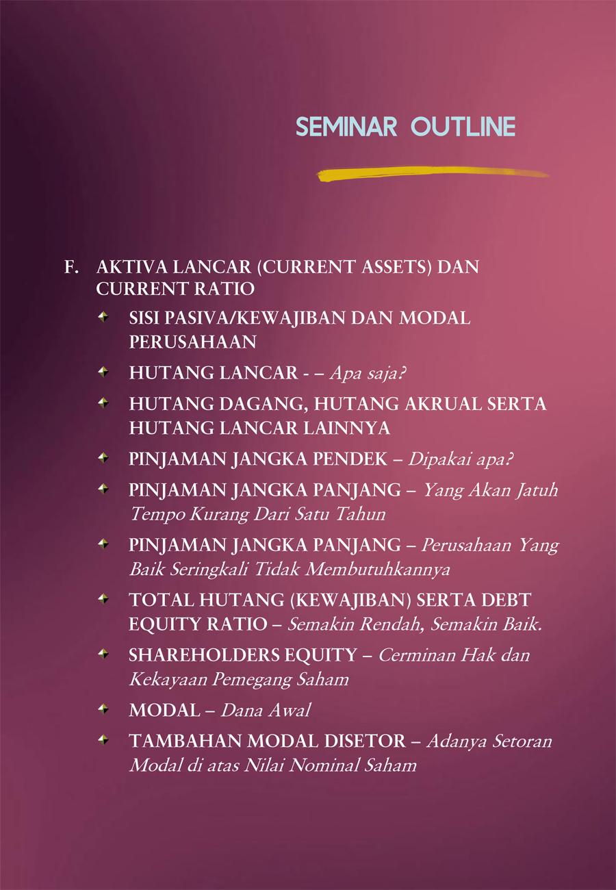 Buku & Seminar   Joeliardi Sunendar